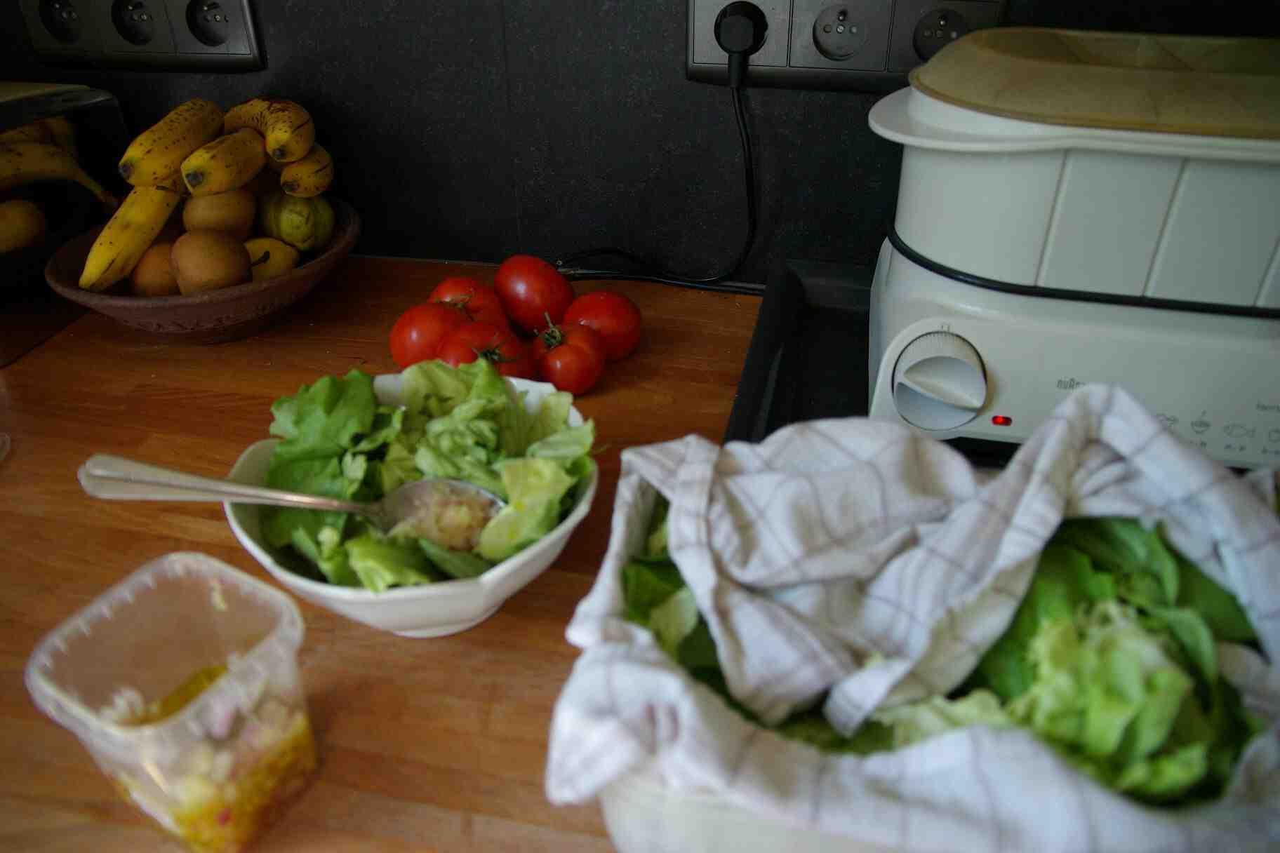 Comment bien sécher la salade ?