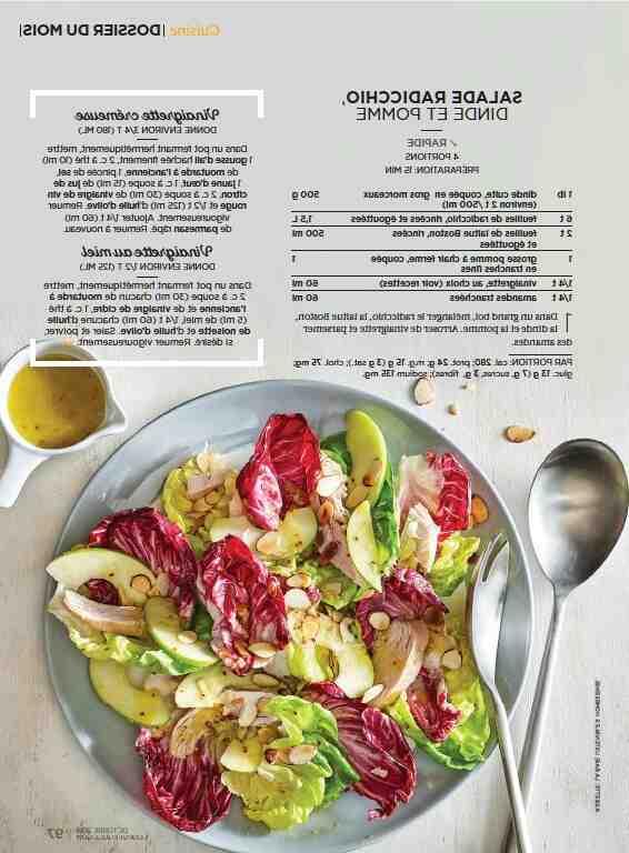 Comment remuer la salade ?